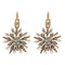 Yoona Antique Gold Plated Austrian Stone Dangler Earrings