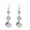 Urthn Silver Plated Stone Dangler Earrings