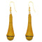 The99Jewel Yellow Gold Plated Thread Earrings