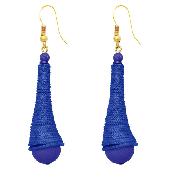 The99Jewel Zinc Alloy Gold Plated Thread Earrings