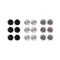 14Fashion Multicolor 9 Pair Of Stud Earrings Set