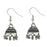 Jeweljunk Rhodium Plated Jhumki Earrings