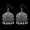 Jeweljunk Oxidised Dangler Earrings