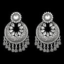 Jeweljunk Oxidised Afghani Earrings