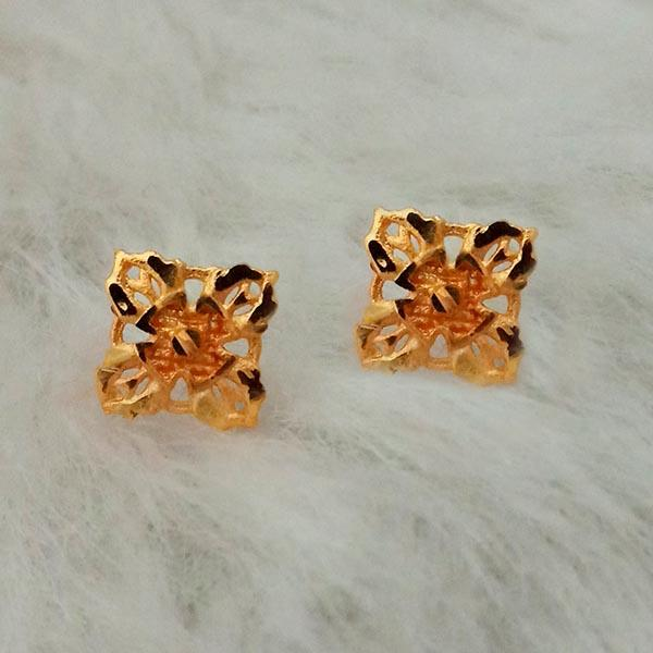 Kriaa Gold Plated Stud Earrings