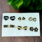 14Fashions Set Of 6 Stud Combo