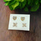14Fashions Set of 2 Stud Earrings Combo - 1312135