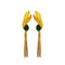 Native Haat Green Crystal Stone Gold Plated Dangler Earrings - N1313107F