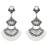 Urthn Stone White Acrylic Dangler Earrings