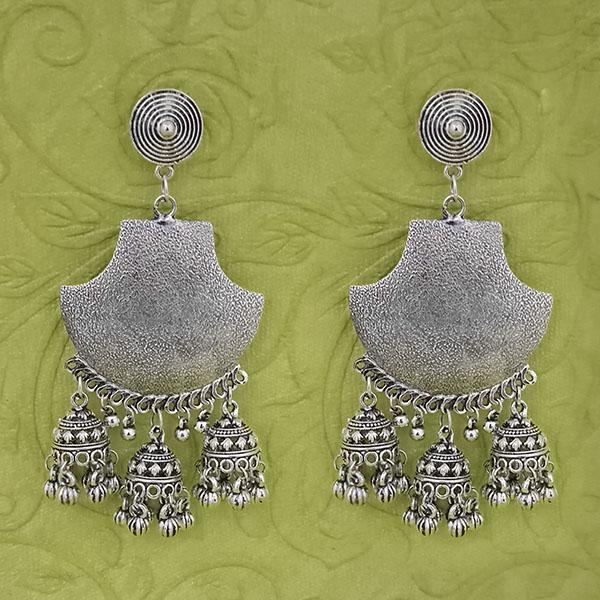 Jeweljunk Oxidised Beads Dangler Earrings