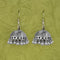 Jeweljunk Oxidised Beads Jhumki Earrings