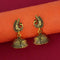 Jeweljunk Gold Plated Jhumki Earrings - 1315019A