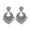 Jeweljunk Oxidised Plated Dangler Earrings - 1315075