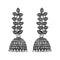 Jeweljunk Oxidised Plated Jhumki Earrings - 1315080