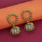 Jeweljunk Antique Gold Plated Jhumki Earrings - 1315085A