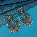 Shubh Art Oxidised Plated Dangler Earrings - 1316920