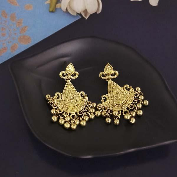 Shubh Art Gold Plated Dangler Earrings-1317001A