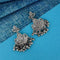 Shubh Art Oxidised Plated Dangler Earrings - 1317001