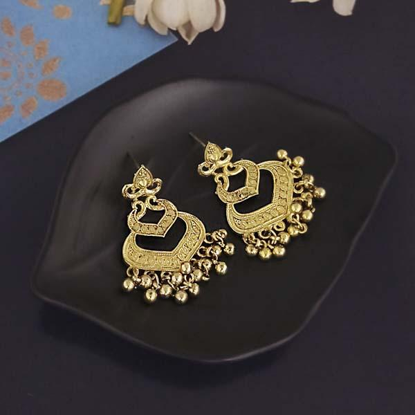 Shubh Art Gold Plated Dangler Earrings-1317003A
