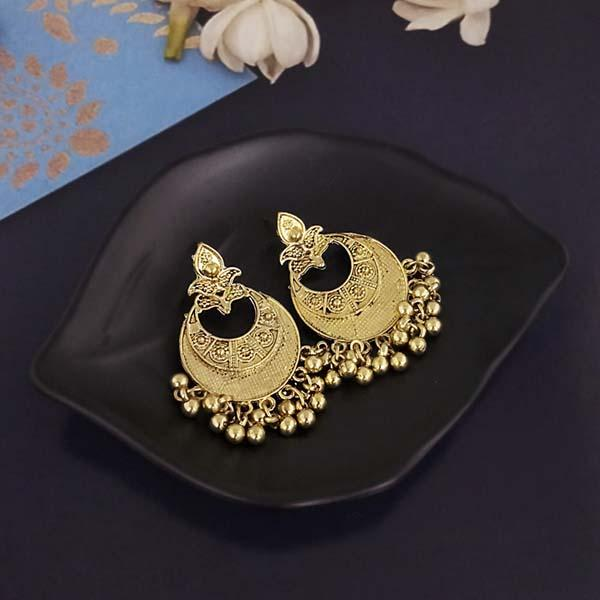 Shubh Art Gold Plated Dangler Earrings-1317005A