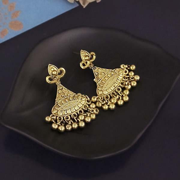 Shubh Art Gold Plated Dangler Earrings-1317006A
