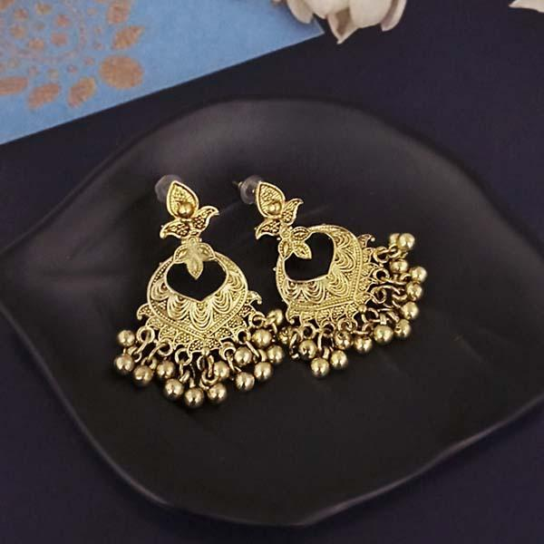 Shubh Art Gold Plated Dangler Earrings-1317007A