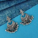 Shubh Art Oxidised Plated Dangler Earrings - 1317007