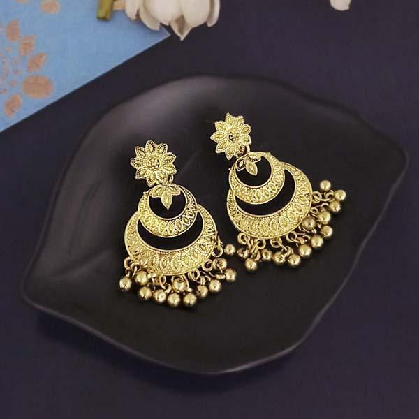 Shubh Art Gold Plated Dangler Earrings-1317008A