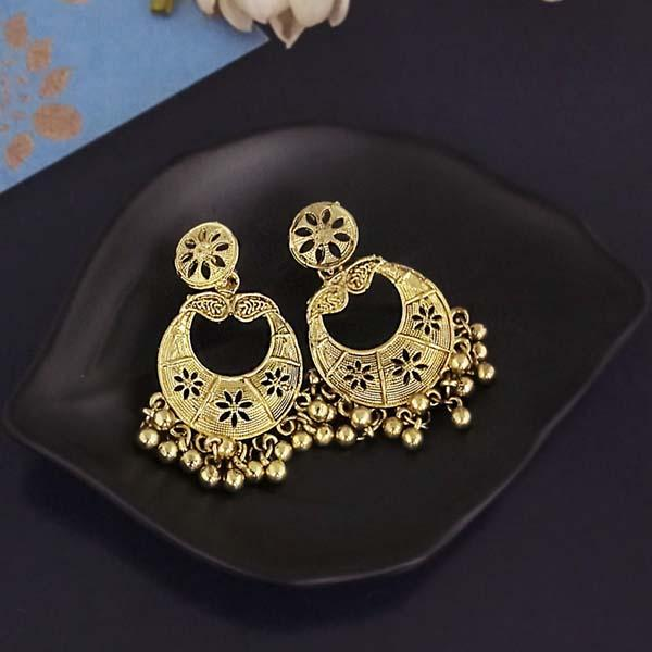 Shubh Art Gold Plated Dangler Earrings-1317012A