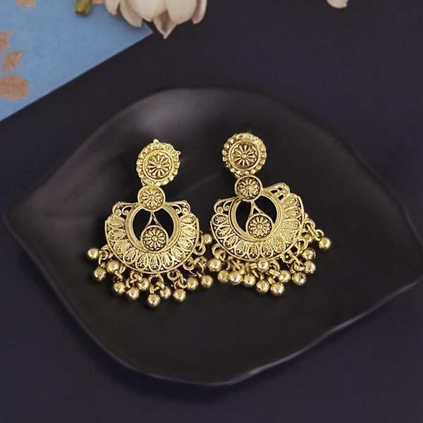 Shubh Art Gold Plated Dangler Earrings-1317013A