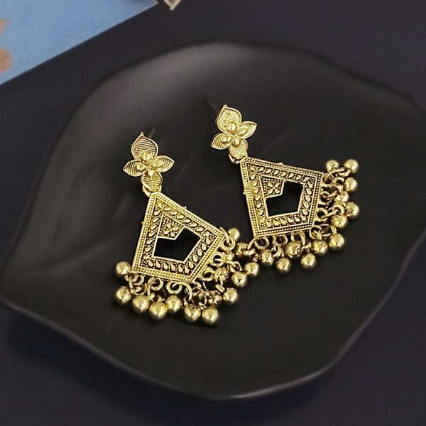 Shubh Art Gold Plated Dangler Earrings-1317016A
