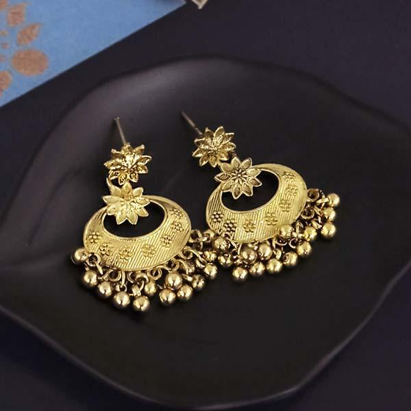 Shubh Art Gold Plated Dangler Earrings-1317017A