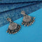 Shubh Art Oxidised Plated Dangler Earrings - 1317019