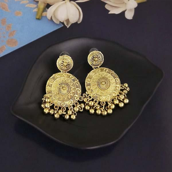 Shubh Art Gold Plated Dangler Earrings-1317020A