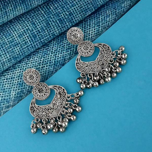 Shubh Art Oxidised Plated Dangler Earrings - 1317021