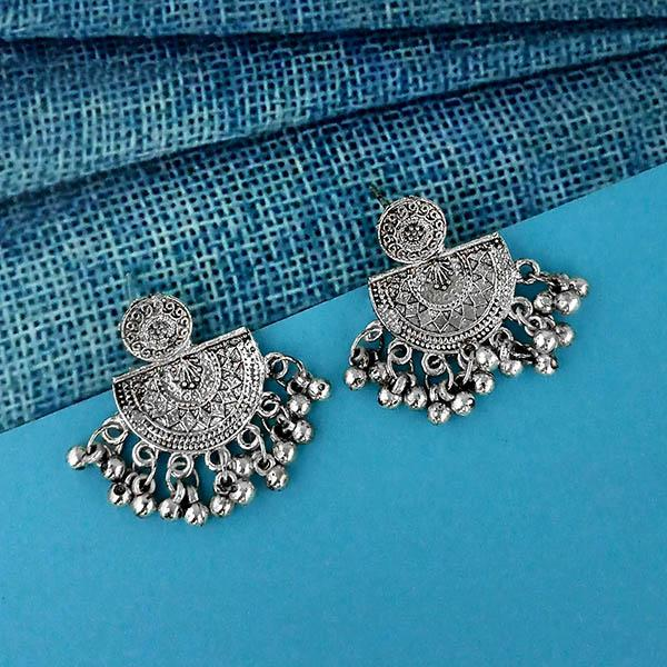 Shubh Art Oxidised Plated Dangler Earrings - 1317022