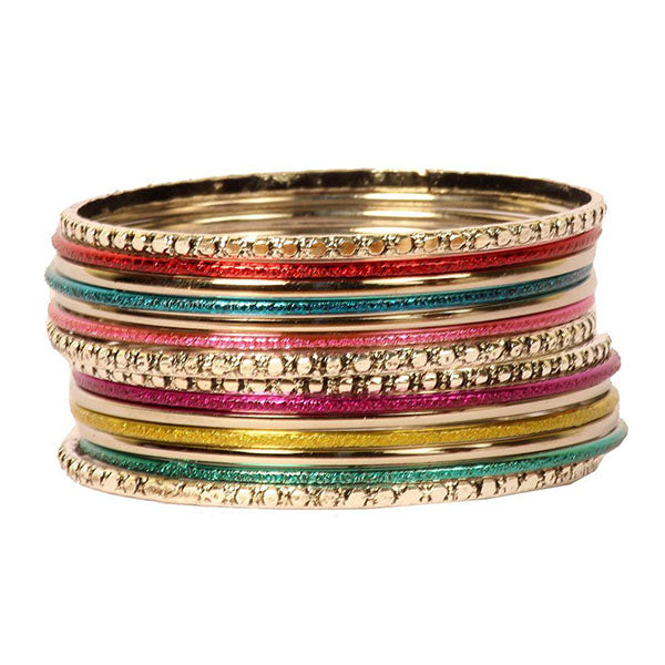 Kriaa Multicolour Bangle Set