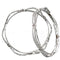 Kriaa Silver Plated Austrian Stone Bangle Set