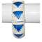Urthn Zinc Alloy White Blue Kada