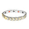 Urthn 2 Tone Plated Chain Mens Bracelet