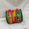 Sejal Multicolor Austrian Stone Bangle Set