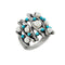 Urthn Pearl Rhodium Plated Ring