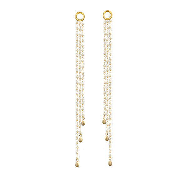 Kriaa Gold Plated Pearl Kan Chain