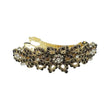 Apurva Pearls Gold Plated  Austrian Stone Barrette Hair Clip