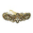 Apurva Pearls Maroon And Green Austrian Stone Barrette Hair Clip