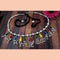 Jeweljunk Oxidised Plated Multicolor Kamarband - 1506003
