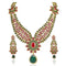 Mithya Austrian Stone Gold Plated Necklace Set