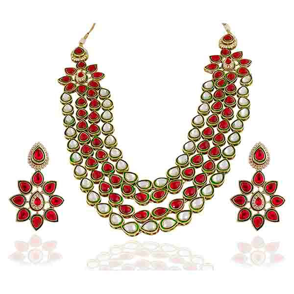Vivaah Kundan Gold Plated Necklace Sets