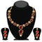 Soha Fashion Pink Austrian Stone Necklace Set