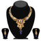 Soha Fashion Blue Austrian Stone Necklace Set